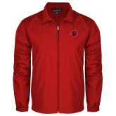 Full Zip Red Wind Jacket-Bear Head