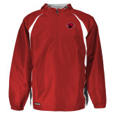 Holloway Hurricane Red/White Pullover-Bear Head