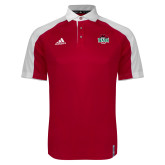 Adidas Modern Red Varsity Polo-Wash U w/Bear