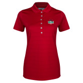 Ladies Callaway Opti Vent Red Polo-Wash U w/Bear