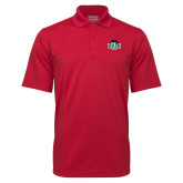 Red Mini Stripe Polo-Wash U w/Bear