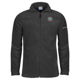 Columbia Full Zip Charcoal Fleece Jacket-WashU