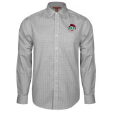 Red House Grey Plaid Long Sleeve Shirt-Wash U w/Bear
