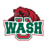 Large Magnet-Wash U w/Bear, 12 inches wide
