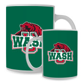 Full Color White Mug 15oz-Wash U w/Bear