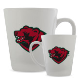 Full Color Latte Mug 12oz-Bear Head