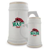 Full Color Decorative Ceramic Mug 22oz-Wash U w/Bear