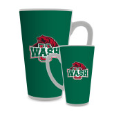 Full Color Latte Mug 17oz-Wash U w/Bear