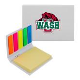 Micro Sticky Book-Wash U w/Bear