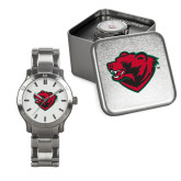 Mens Stainless Steel Fashion Watch-Bear Head