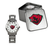 Ladies Stainless Steel Fashion Watch-Bear Head