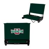 Stadium Chair Dark Green-Washington U