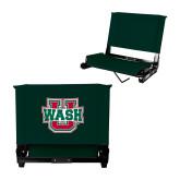 Stadium Chair Dark Green-WashU