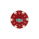 Red Game Chip-Wash U w/Bear