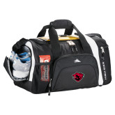 High Sierra Black 22 Inch Garrett Sport Duffel-Bear Head