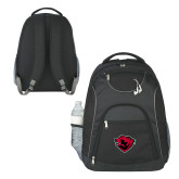 The Ultimate Black Computer Backpack-Bear Head