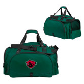 Challenger Team Dark Green Sport Bag-Bear Head