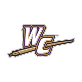 Medium Decal-WC with Pen, 8 inches wide