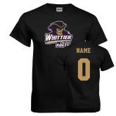 Black T Shirt-Primary Mark, Custom Tee w/ Name and #