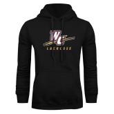 Black Fleece Hoodie-Lacrosse