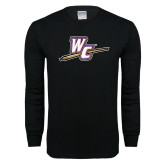 Black Long Sleeve T Shirt-WC with Pen