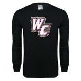 Black Long Sleeve T Shirt-WC