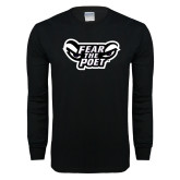 Black Long Sleeve T Shirt-Fear the Poet
