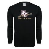 Black Long Sleeve T Shirt-Water Polo