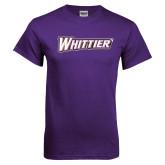Purple T Shirt-Whittier