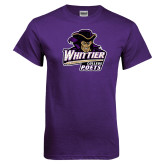 Purple T Shirt-Primary Mark Distressed