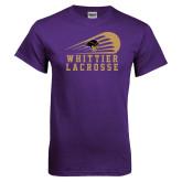 Purple T Shirt-Lacrosse