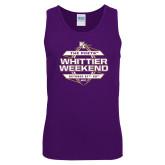 Purple Long Sleeve T Shirt-Whittier Weekend