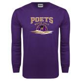 Purple Long Sleeve T Shirt-Water Polo