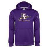 Under Armour Purple Performance Sweats Team Hoodie-Water Polo