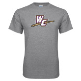 Grey T Shirt-WC with Pen