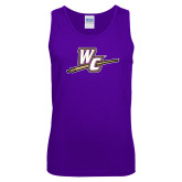 Purple Tank Top-WC with Pen