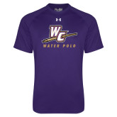 Under Armour Purple Tech Tee-Water Polo