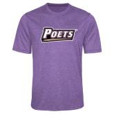 Performance Purple Heather Contender Tee-Poets