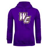 Purple Fleece Hoodie-WC
