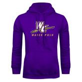 Purple Fleece Hoodie-Water Polo