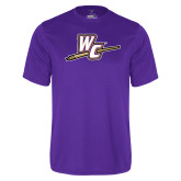 Performance Purple Tee-WC with Pen