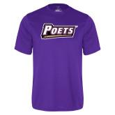 Performance Purple Tee-Poets
