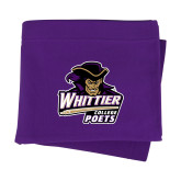 Purple Sweatshirt Blanket-Primary Mark