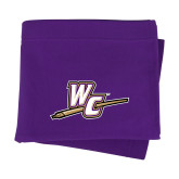Purple Sweatshirt Blanket-WC with Pen