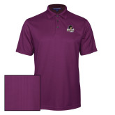 Purple Performance Fine Jacquard Polo-Primary Mark