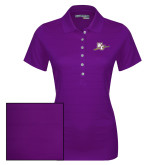 Ladies Callaway Opti Vent Purple Polo-WC with Pen
