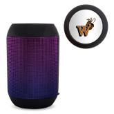 Disco Wireless Speaker/FM Radio-Mascot W Logo