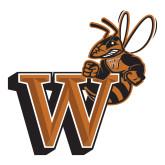 Medium Decal-Mascot W Logo, 8 inches tall