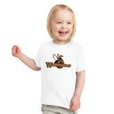 Toddler White T Shirt-Waynesburg Primary Logo