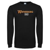 Black Long Sleeve T Shirt-Dad